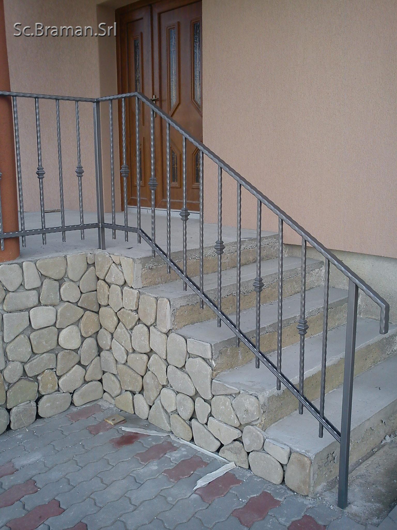 Balustrada de fier 140 (Reghin)
