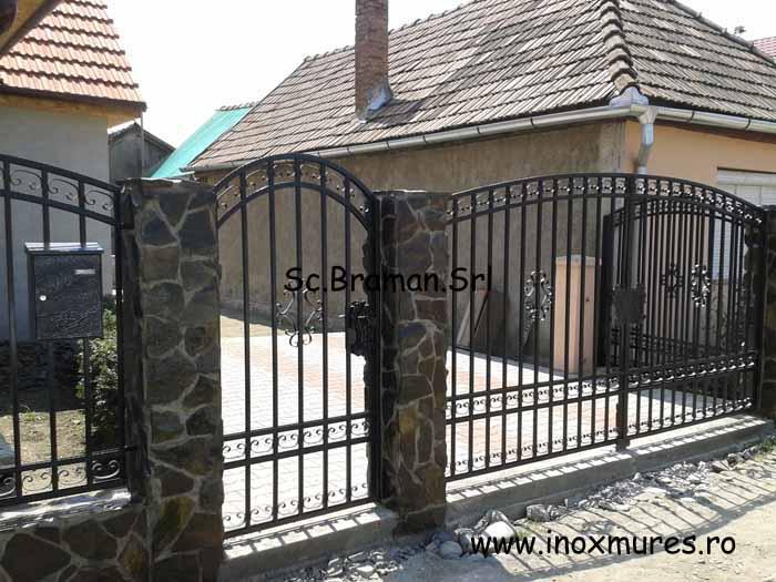 Gard din Fier (Reghin)