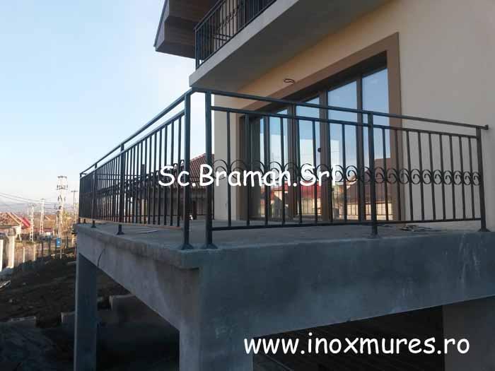 Gard Din fier + Balustrada Nazna 03
