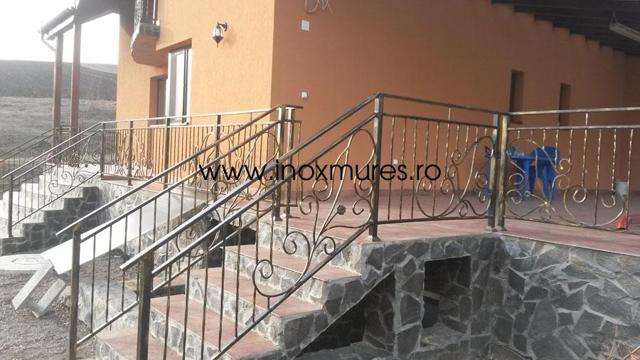 Balustrada Din fier (in Sancrai de Mures)