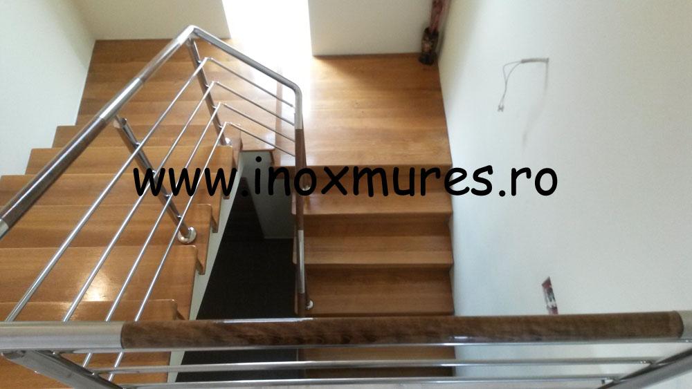 Balustrada Inox-Lemn Campia Turzii