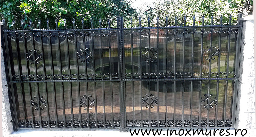 Gard din fier (in Breaza jud.Mures)