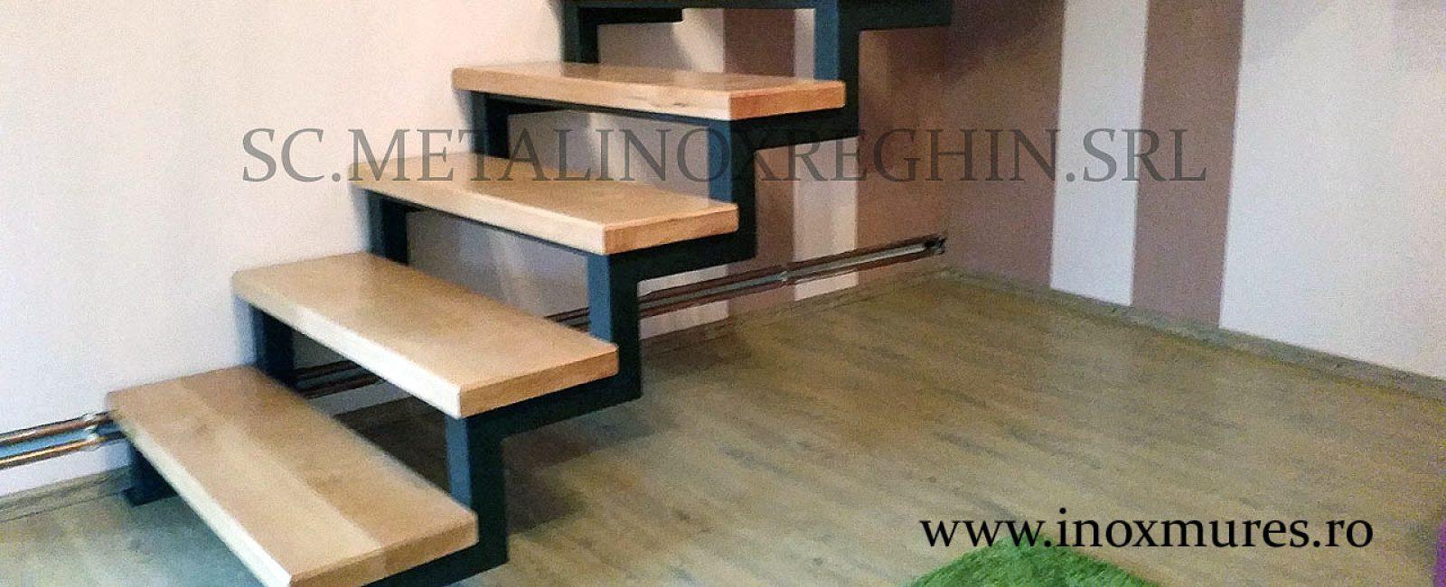 Scara din fier + trepte lemn ( in Reghin)