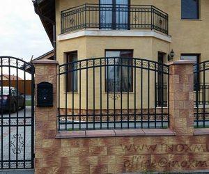 Gard + balustrada din Fier (in Reghin 02 )