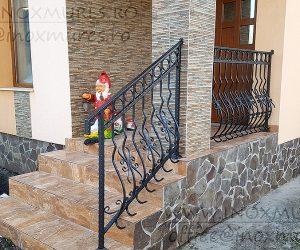 Balustrada din Fier Forjat  (in Sarmasel Gara)