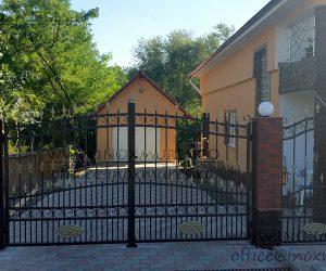 Gard din fier (in Valea Larga Jud.Mures)