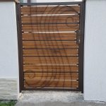 Gard din fier combinat cu lemn Rusi Munti 10.2018