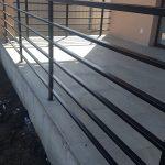 Balustrada din fier,confectionata si montata in Sancraiu de Mures 03.2019