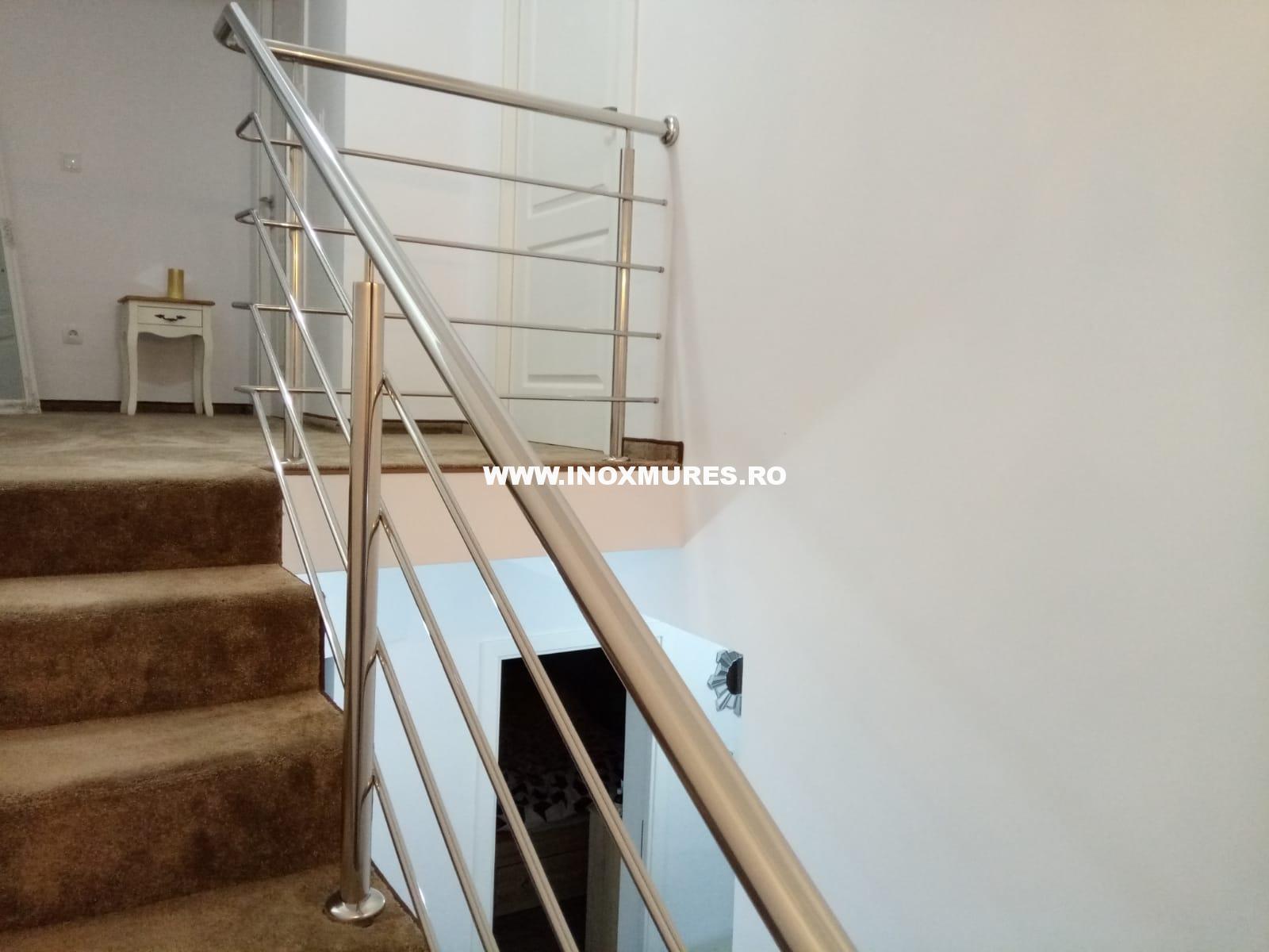 Balustrada inox Remetea Mica, Mures 04.03.2019