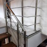 Scara metalica, placata cu lemn de fag Rustisor bistrita Nasaud 2019