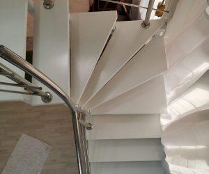 Scara interioara si balustrada inox Reghin 11.09.2019