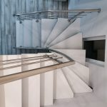 Scara metalica si balustrada de inox Teaca 02.10.2019