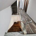 Scara din metal balustrada din inox Turda 01.2020