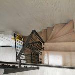 Balustrada de inox combinata cu lemn Vatra Dornei 24.02.2020