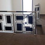 Balustrada inox combinata cu lemn Vatra Dornei 02.2020