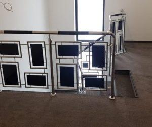 Balustrada inox combinata cu lemn Vatra Dornei 17.02.2020